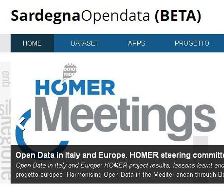 """INNOVAZIONE, Assessore Demuro: """"La Sardegna culla della cultura digitale. Il Progetto Homer ci pone al centro del Mediterraneo nella federazione Open data"""""""