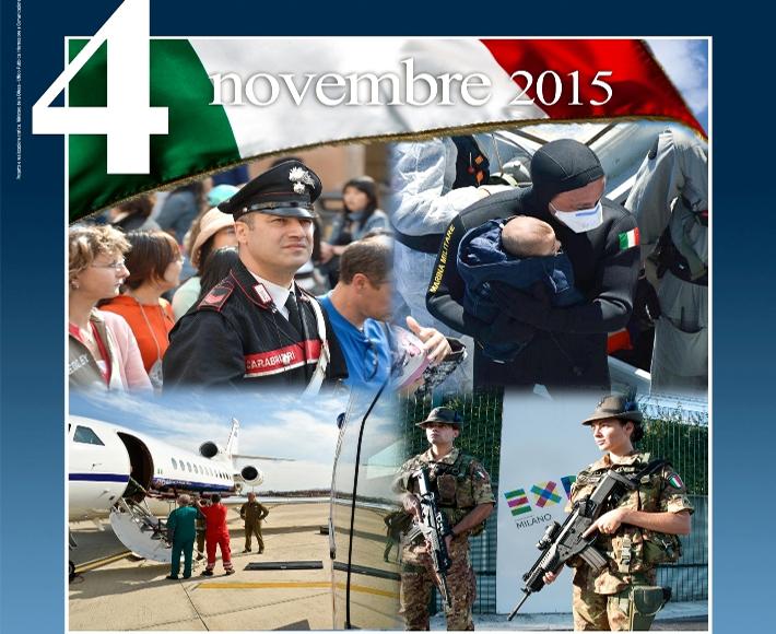 CAGLIARI, Mercoledì 4 novembre le celebrazioni del Giorno dell'Unità Nazionale e della Giornata delle Forze Armate