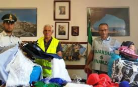 ARBATAX, Abusivismo commerciale sul litorale: sequestrati 1.500 articoli, sanzionati 2 venditori abusivi