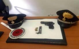 SANLURI, Carabinieri salvano aspirante suicida, poi arrestato per detenzione di una pistola