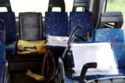 TRASPORTI, Le IMMAGINI dei danni ad un autobus Arst che fa servizio verso le scuole