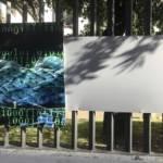 SASSARI, Danneggiato e rubato un dipinto esposto dalla Banca di Sassari in viale Mancini