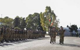 SASSARI, I 'sassarini' salutano la città prima di andare in missione in Afghanistan, Iraq e Libia