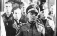 Tra i caduti della 'guerra civile' anche il sottosegretario di Mussolini, Francesco Maria Barracu: sardo di Santu Lussurgiu (Angelo Abis)