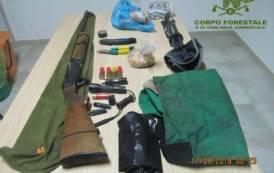 SARDEGNA, Due bracconieri scoperti e denunciati al confine col Parco di Gutturu Mannu