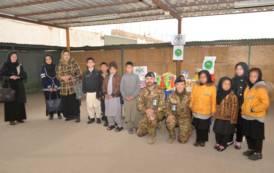 AFGHANISTAN, Brigata Sassari dona materiale per l'infanzia e giocattoli all'orfanotrofio di Herat