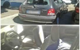 CAGLIARI, Auto abbandonata nei parcheggi del Brotzu, ma nessuno interviene