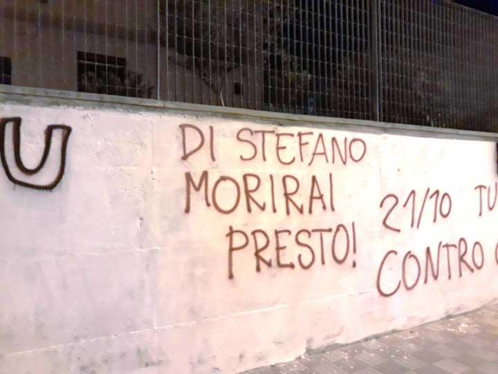 A Cagliari clima da 'anni di piombo' per inaugurazione di una sede politica. Le Istituzioni dove sono? (Salvatore Deidda)