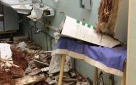 """IGLESIAS, Crollo di un solaio nell'ospedale Cto. Rubiu: """"Sanità del Sulcis Iglesiente è da terzo mondo"""""""