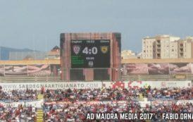 CALCIO, Poker servito al Sant'Elia: Cagliari-Chievo 4-0. A segno Borriello, Sau e João Pedro (2)