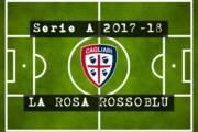 CALCIO, Cagliari: 2017-18 al via. La rosa