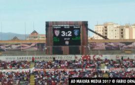 CALCIO, Il Cagliari rianima l'Empoli ma vince (3-2). Nuovo record assoluto di reti subite