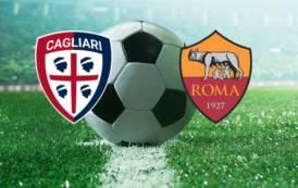 CALCIO, Cagliari agguerrito e sprecone, la Roma lo punisce (0-1)