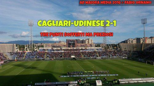 CALCIO, Cagliari-Udinese 2-1: per i rossoblu tre punti meritati. Un grande Sau decide di tacco