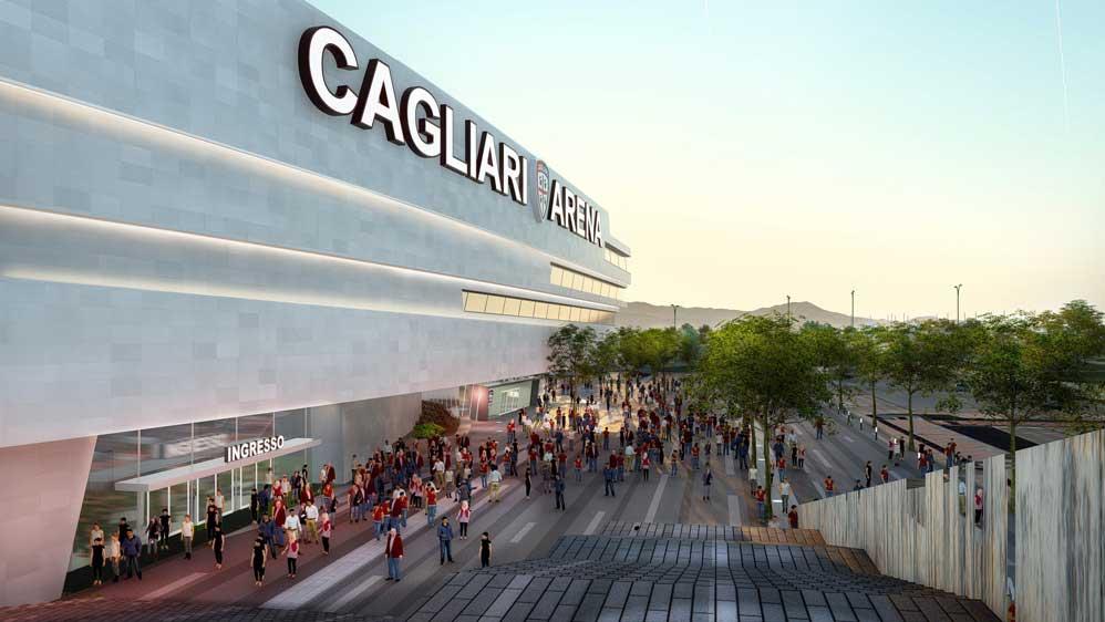 CAGLIARI, Il progetto del nuovo stadio sarà quello del Consorzio Sportium (IMMAGINI)