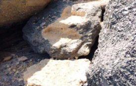 """BAUNEI, Scalini scolpiti nella roccia a Cala Biriala. Grig: """"Una cafonata in danno all'ambiente"""""""