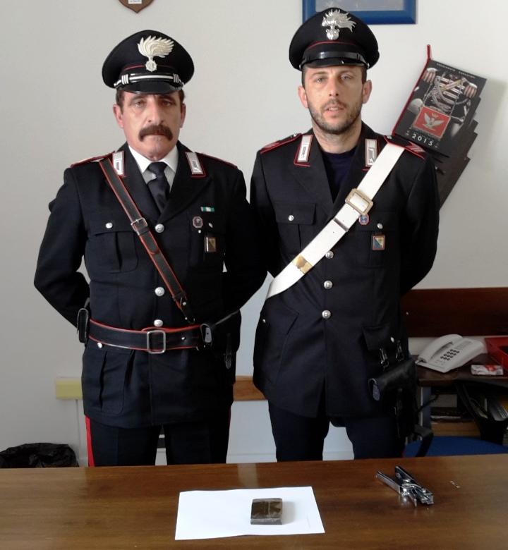 CARBONIA, Arrestato per detenzione ai fini di spaccio di sostanze stupefacenti mentre rientrava dal Tribunale di Cagliari