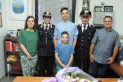 CALASETTA, Due carabinieri fuori servizio soccorrono un giovane che stava soffocando