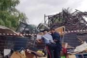 CARBONIA, Scoperta discarica abusiva di 100 mq vicino al campo nomadi: denunciato un 48enne