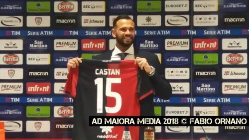 """CALCIO, Ecco Castán: """"Voglio dimostrare il mio valore a Cagliari"""""""