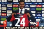 """CALCIO, Cagliari, ufficiale Ceter: """"Desidero migliorarmi e contribuire agli obiettivi rossoblu"""""""