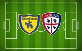 CALCIO, Il Cagliari rianima il Chievo (2-1): i veneti non vincevano da novembre