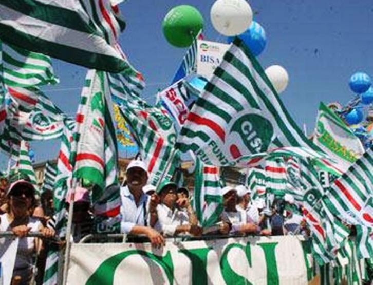 SINDACATI, Congresso della Cisl: Appello all'unità per ridisegnare il futuro della Sardegna