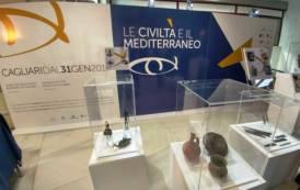 """CAGLIARI, Dal 31 gennaio la mostra """"Le Civiltà e il Mediterraneo"""": 550 pezzi da prestigiosi musei europei"""