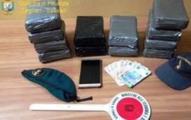 PORTO TORRES, Arrivato da Barcellona con oltre 15 chili di cocaina: arrestato spagnolo 39enne