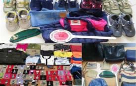 SARDEGNA, Controlli sui litorali: sequestrati oltre 600 articoli tra Muravera, Villasimius e Quartu Sant'Elena