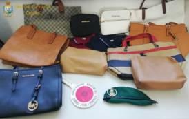 CAGLIARI, Sequestri di articoli contraffatti sotto i portici di via Roma ed a Giorgino