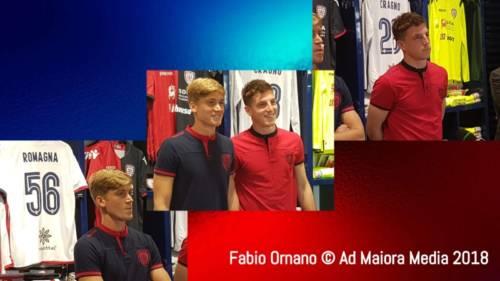 CALCIO, Cragno e Romagna all'incontro con i tifosi rossoblu