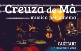 """CAGLIARI, Quattro giorni di spettacolo per chiusura del festival di musica per il cinema """"Creuza de Mà"""""""