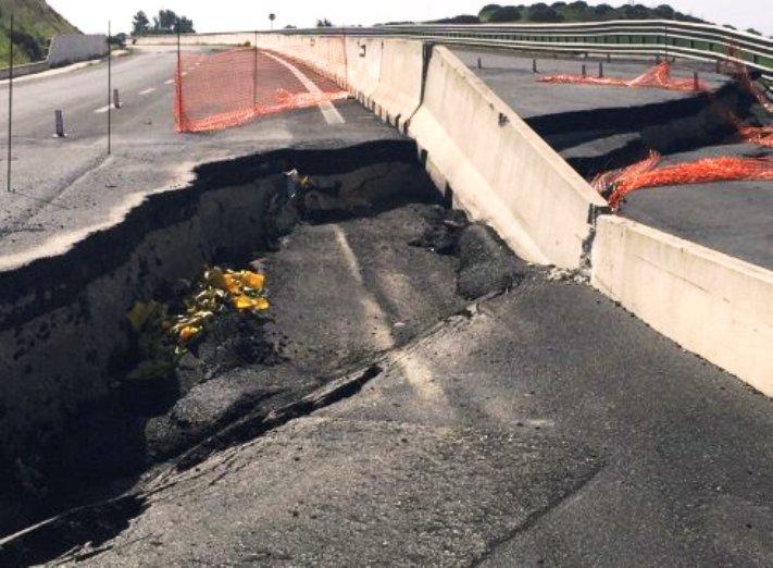 """VIABILITA', Denuncia di Pili (Unidos): """"Sei anni fa i primi crolli sulla nuova statale 554"""""""