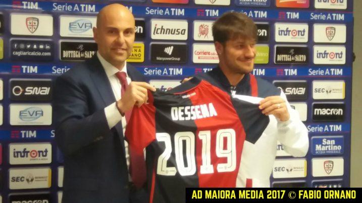 Dessena rinnova con il Cagliari: