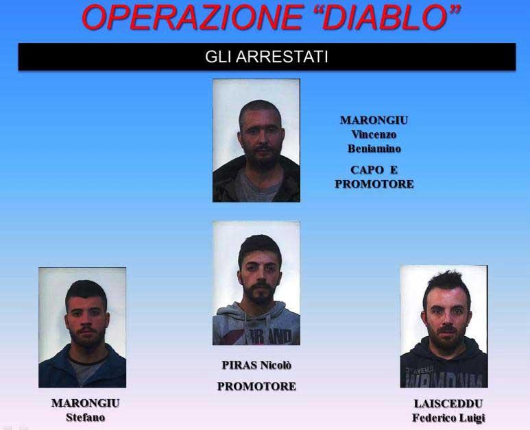 OGLIASTRA, Traffico illecito di armi ed esplosivo militare: quattro arresti ad Arzana e Cardedu