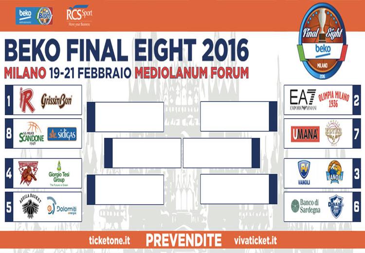 PALLACANESTRO, La Dinamo contro Cremona per 'final eight' della Coppa Italia 2016