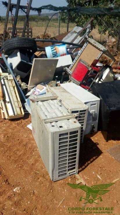 SELARGIUS, Smaltimento abusivo di amianto, piombo e rifiuti indifferenziati: quattro persone denunciate