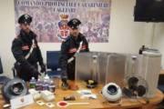 CAGLIARI, Spacciatori e coltivatori di droga in casa: padre e due figli arrestati