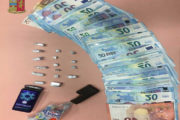CAGLIARI, Trovato con dosi di hashish e 1.160 euro: arrestato 23enne gambiano