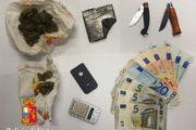 CAGLIARI, Spacciava droga nel bar di via Roma dove lavorava: arrestato 33enne