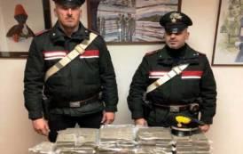 CAGLIARI, Aveva in casa 45 chili di hashish: arrestato 42enne