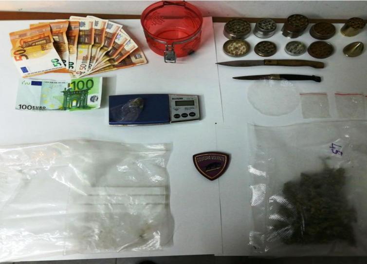 Milano: sorpresa con 5 chili di hashish, arrestata