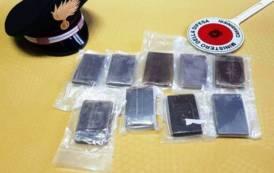 ASSEMINI, Perquisizione in condominio di via Carife: trovati 9 panetti da 100 grammi di hashish