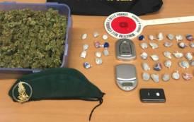 SASSARI, Sequestrata marijuana, oltre 2 chili, e cocaina: arrestate tre persone ed un quarto denunciato