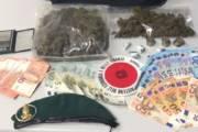 VALLEDORIA, Trovati a casa 300 grammi di marijuana: giovane coppia arrestata per spaccio