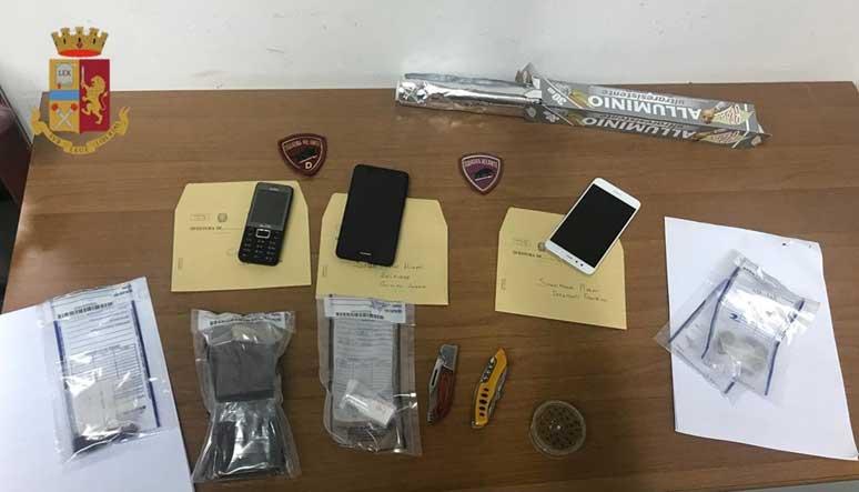 CAGLIARI, Hashish, marjuana e cocaina in via Magellano: arrestati tre spacciatori