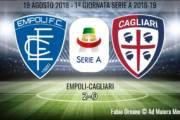CALCIO, Debutto da dimenticare per Maran: Empoli-Cagliari 2-0