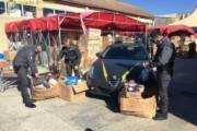 CAGLIARI, Sequestrati oltre 59.000 giocattoli, profumi e pochette con marchi contraffatti: denunciato negoziante cinese