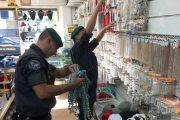 OLBIA, Sequestrati oltre 500mila articoli di bigiotteria e 500 sciarpe in falso cashmere (VIDEO)